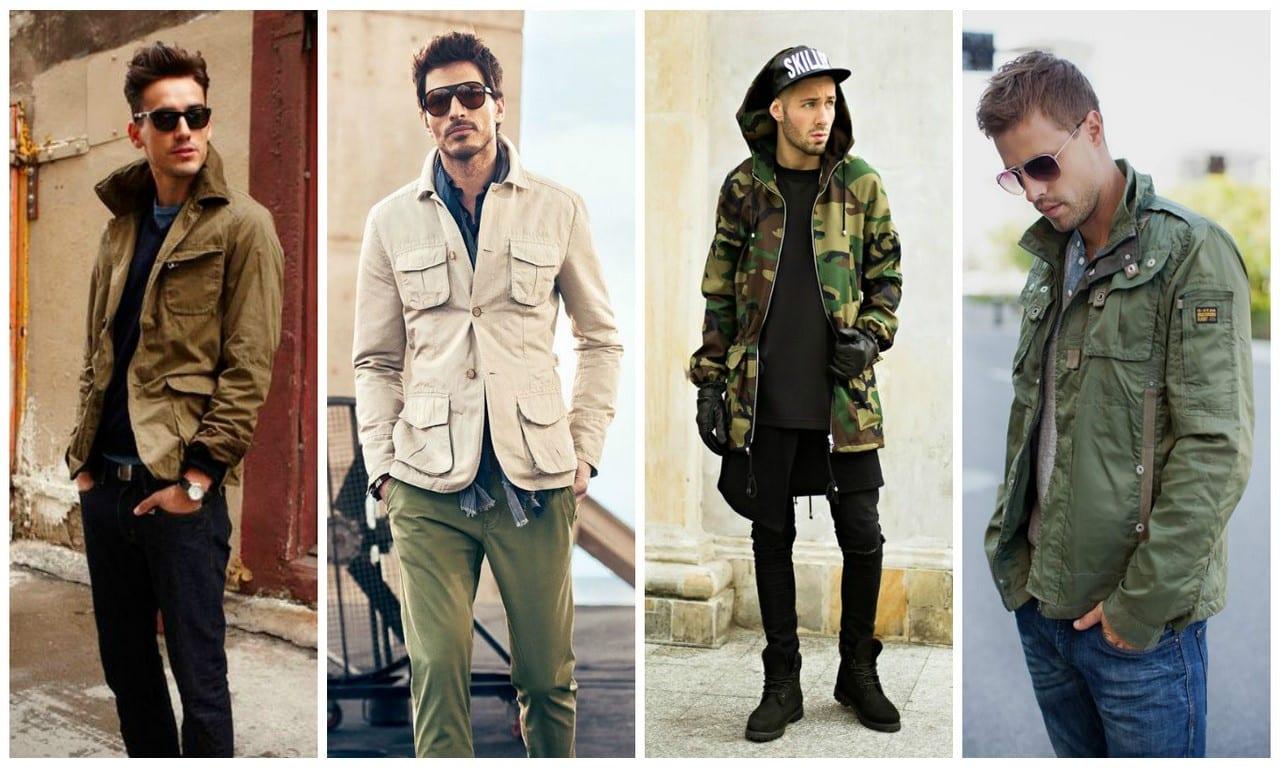 Особенности стиля милитари