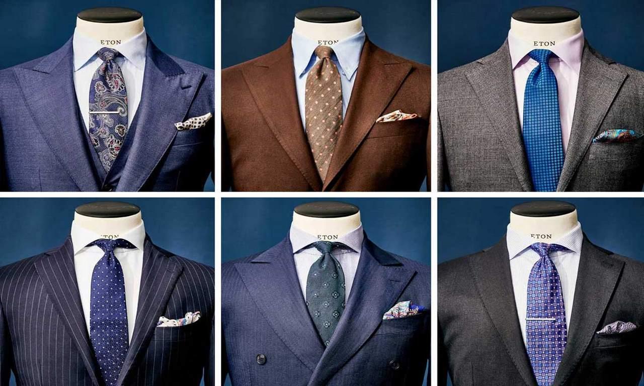 Подбор под цвет костюма и рубашки или джинсов